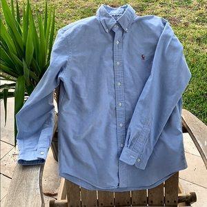 Ralph Lauren Men's Classic Blue Oxford Shirt M